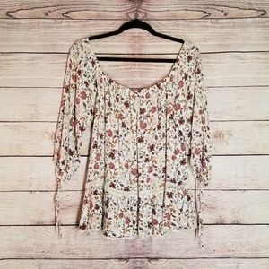 American Eagle Boho womens top size XL